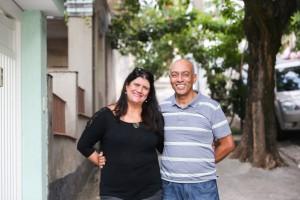 26 anos na Penha. Nice Carneiro e o mardo Carlos Severino