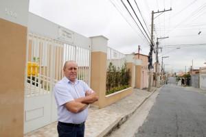 Celso Paiva, que é morador da Penha desde que nasceu